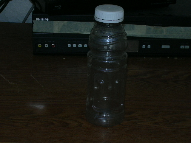My collection bottle