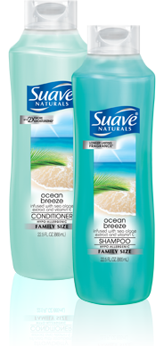 Suave Naturals Ocean Breeze Shampoo and Conditioner