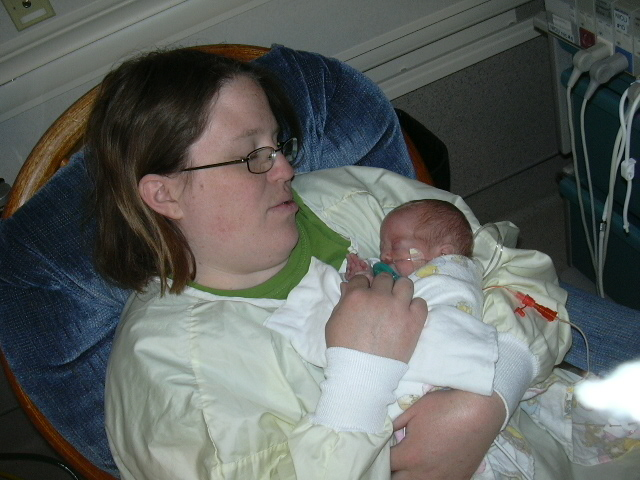 The kidlet and me on our first Mother's Day in 2009.