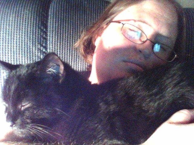 Me asleep with Edda
