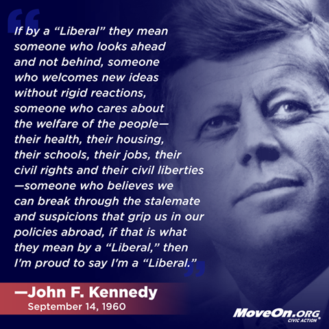 Some words from JFK.