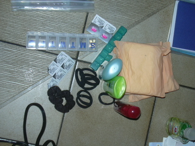 My personal care items.