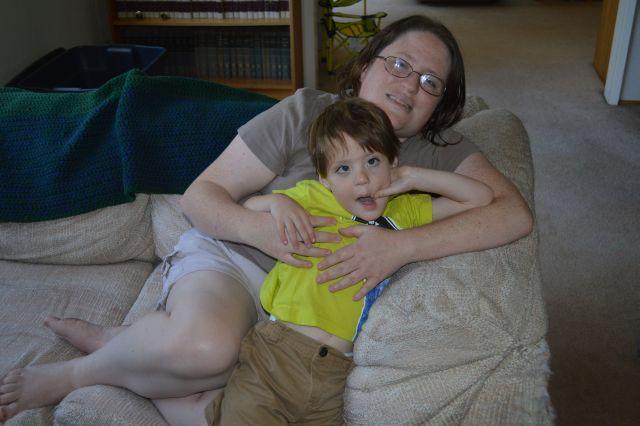 Daniel and I.