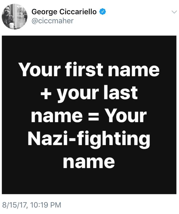 Your Nazi-Fighting Name