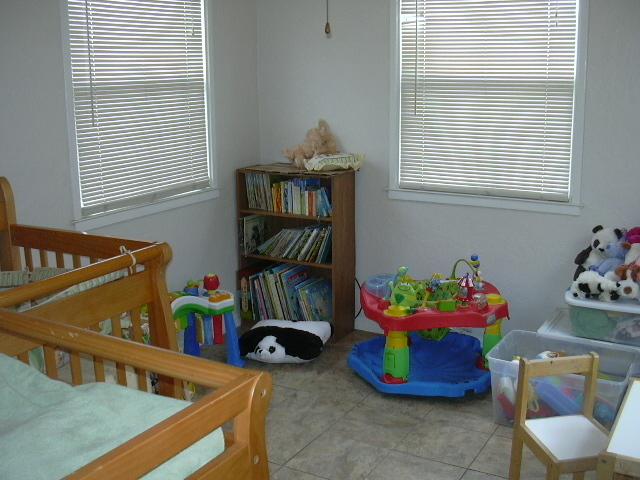 Daniel's new nursery