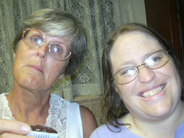 My mother-in-law and I.