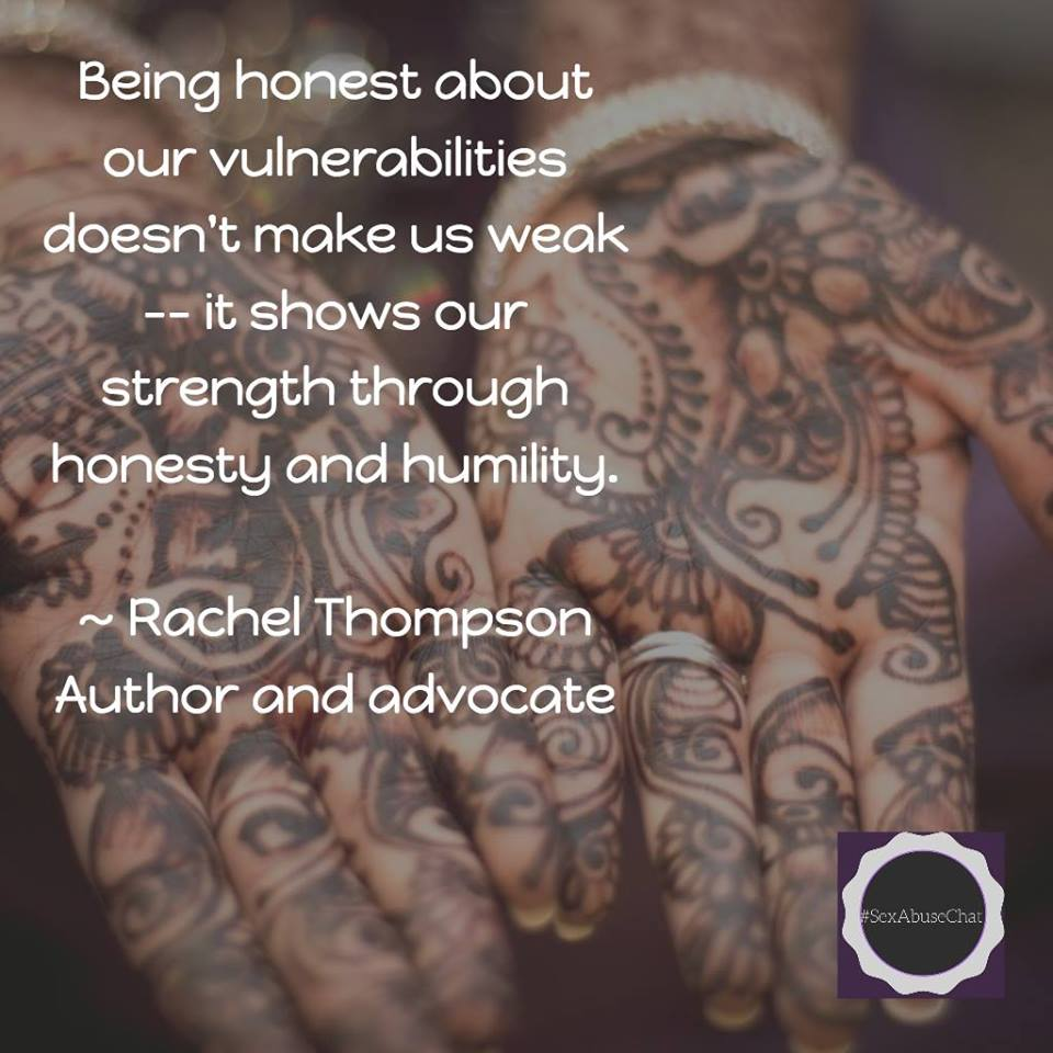Being vulnerable...