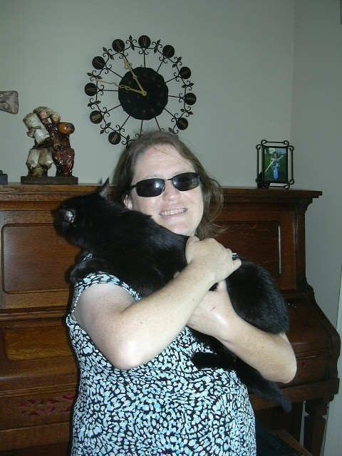 Me with the Edda Puss.