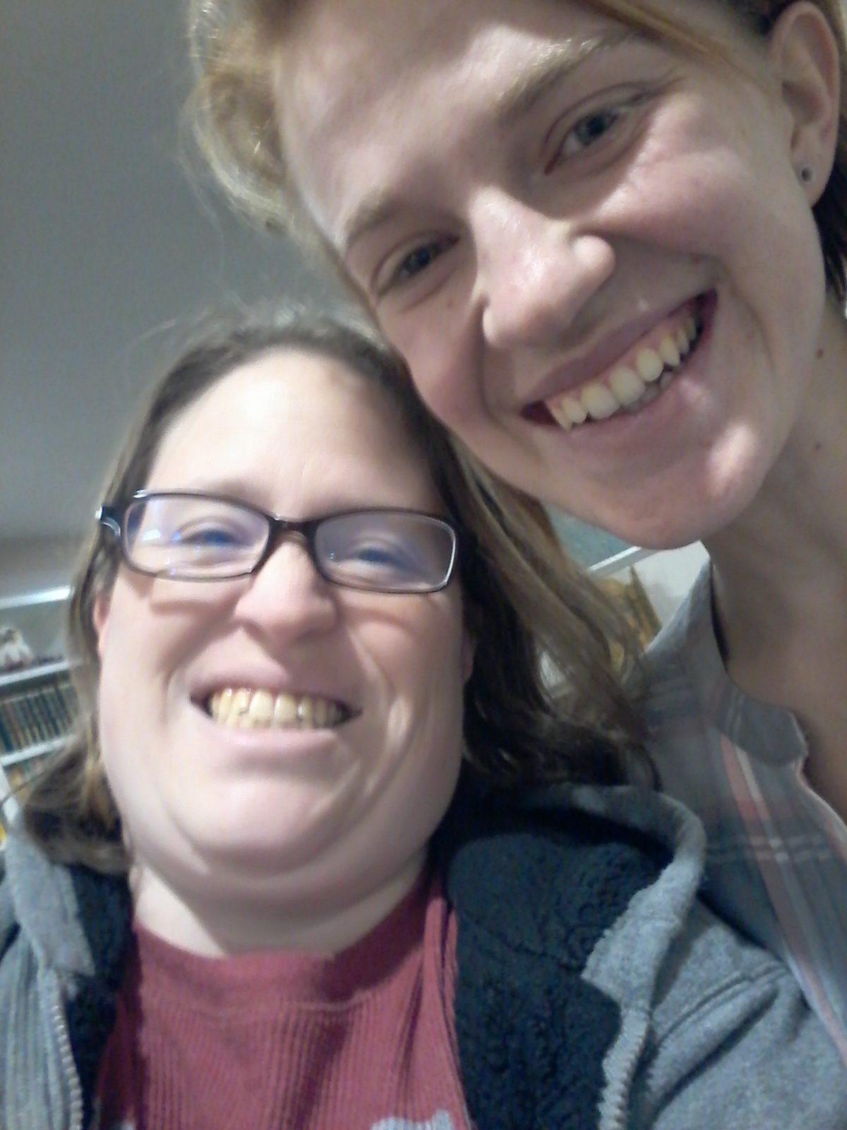Me with Sarah.