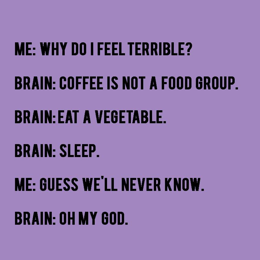 Yeah, this is totally me...