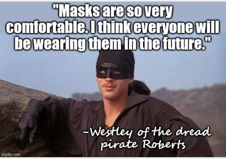 Masks are comfortable