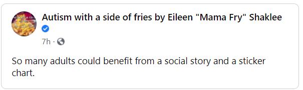 I love Mama Fry.
